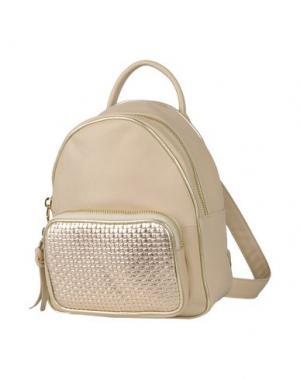 Рюкзаки и сумки на пояс VIA REPUBBLICA. Цвет: песочный