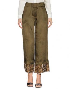 Повседневные брюки DANIELA PANCHERI. Цвет: зеленый-милитари