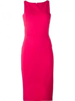 Коктейльное платье Antonio Berardi. Цвет: розовый и фиолетовый