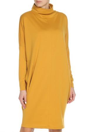 Платье Adzhedo. Цвет: горчичный