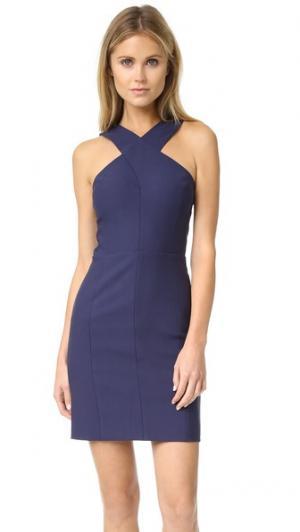 Платье Elliot Elizabeth and James. Цвет: фиолетово-синий/черный