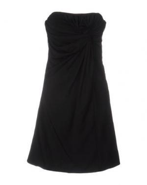 Короткое платье BDBA. Цвет: черный