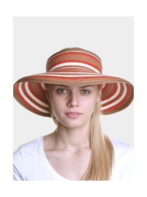 Шляпа Canoe. Цвет: терракотовый