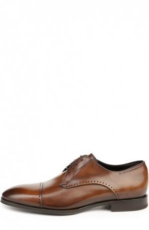 Туфли W.Gibbs. Цвет: коричневый