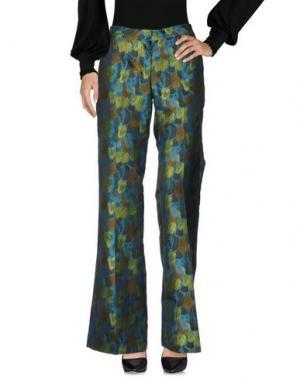 Повседневные брюки GIULIETTE BROWN. Цвет: зеленый-милитари