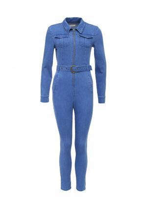 Комбинезон джинсовый Urban Bliss. Цвет: голубой