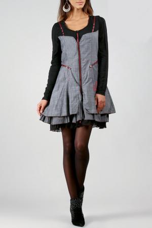 Платье La Fille de Couturier. Цвет: черный