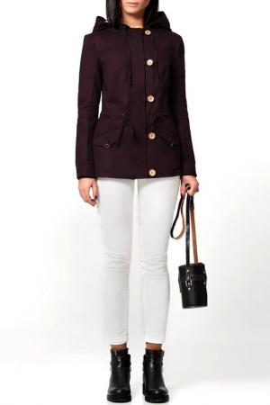 Куртка PRIO. Цвет: баклажан