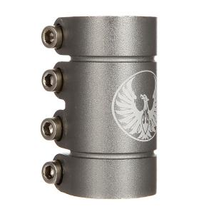 Зажимы  Smooth Scs Clamp Gunmetal Phoenix. Цвет: серый