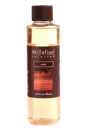 Рефилл Кедр, 250 мл millefiori milano. Цвет: коричневый