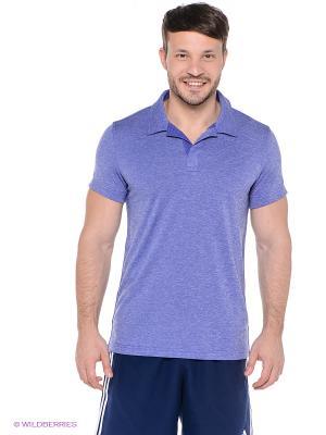 Футболка-поло INSIDE-OUT POLO Adidas. Цвет: фиолетовый