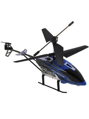 Радиоуправляемый вертолет Крепыш, гироскоп и турбоускорение Синий ВластелиНебес. Цвет: синий