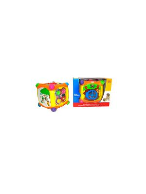 Игровойцентр Куб HUILE. Цвет: голубой, желтый, зеленый