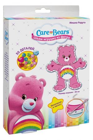 Шьем игрушку Мишка радуга ЗАБОТЛИВЫЕ МИШКИ. Цвет: розовый