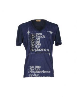 Футболка C'N'C' COSTUME NATIONAL. Цвет: темно-синий