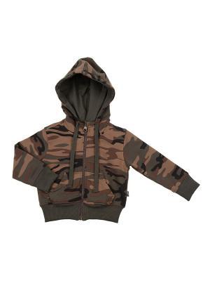 Куртка Mini Maxi. Цвет: хаки