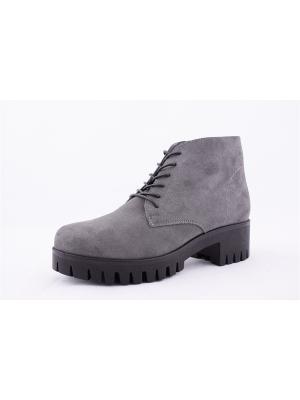 Ботинки BERG. Цвет: серый