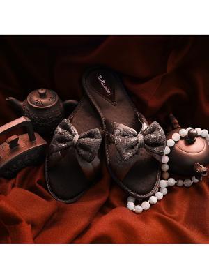 Тапочки Petit Pas. Цвет: светло-коричневый