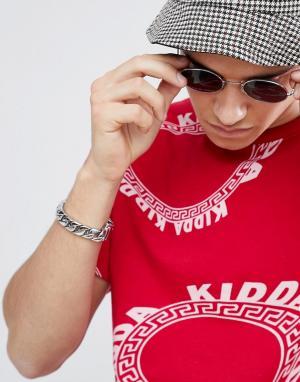 Christopher Shannon Красная футболка с логотипом Kidda By. Цвет: красный
