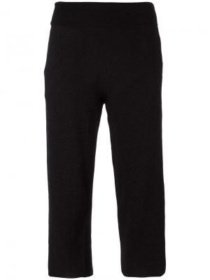 Укороченные брюки James Perse. Цвет: чёрный