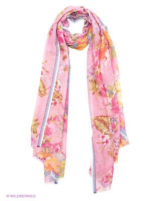 Платок Venera. Цвет: розовый, желтый, синий