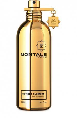 Парфюмерная вода Sunset Flowers Montale. Цвет: бесцветный