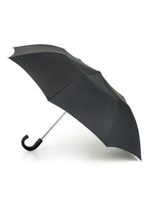 Зонт Полуавтомат Fulton. Цвет: черный
