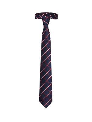Классический галстук Успешный уикенд в Чикаго ромб Signature A.P.. Цвет: темно-синий, белый, красный