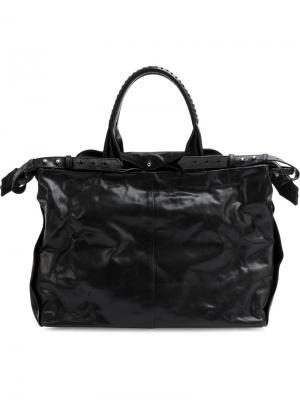 Большая сумка на плечо Cornelian Taurus By Daisuke Iwanaga. Цвет: чёрный