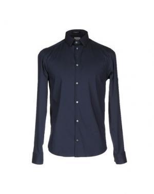 Pубашка COSTUME NATIONAL HOMME. Цвет: темно-синий