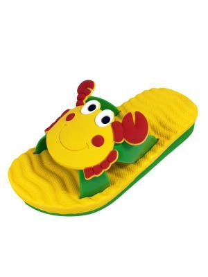 Пантолеты TINGO. Цвет: зеленый, желтый, красный