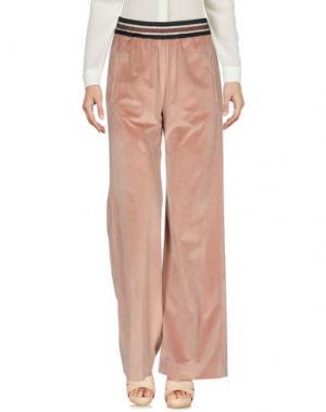 Повседневные брюки SHIRTAPORTER. Цвет: телесный