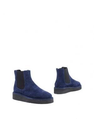 Полусапоги и высокие ботинки FIORINA. Цвет: темно-синий