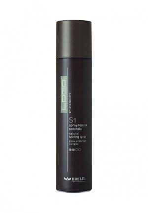 Сухой спрей для волос Brelil Professional. Цвет: черный