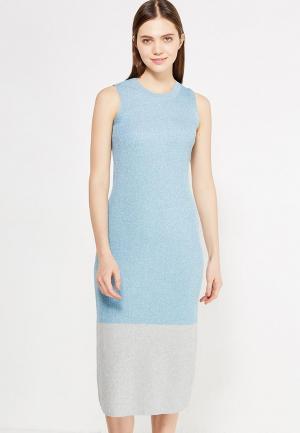 Платье Warehouse. Цвет: голубой