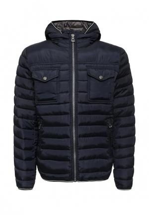 Куртка утепленная Broadway. Цвет: синий