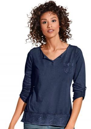 Кофточка. Цвет: джинсовый синий, розовый, серый, хаки