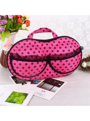 Чехол для переноски бюстов Бюсто RUGES. Цвет: розовый, черный