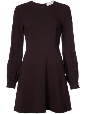 Flared dress A.L.C.. Цвет: коричневый