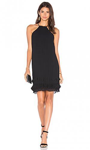 Платье холтер step to it Lumier. Цвет: черный