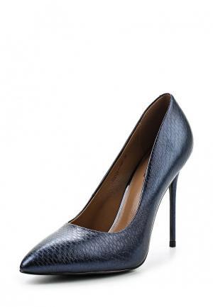 Туфли Milana. Цвет: синий