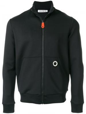 Куртка на молнии Dirk Bikkembergs. Цвет: чёрный