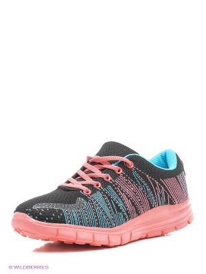 Кроссовки Ascot. Цвет: черный, бирюзовый, розовый