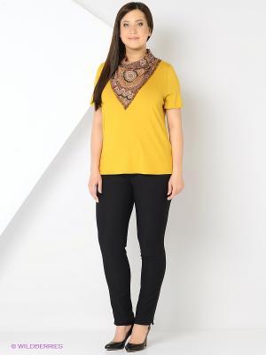 Джемпер Milana Style. Цвет: желтый