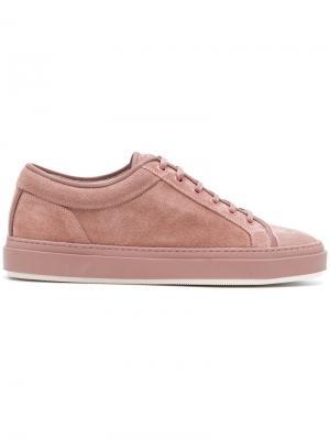 Кеды на шнуровке Etq.. Цвет: розовый и фиолетовый