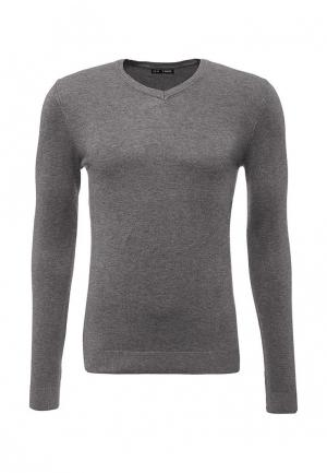 Пуловер Твое. Цвет: серый