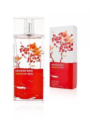 Happy In Red lady, Туалетная вода, 100 мл Armand Basi. Цвет: белый, красный