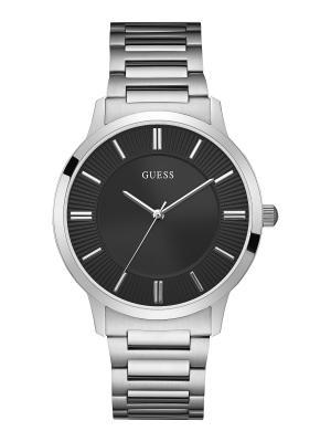Часы GUESS. Цвет: черный,серебристый