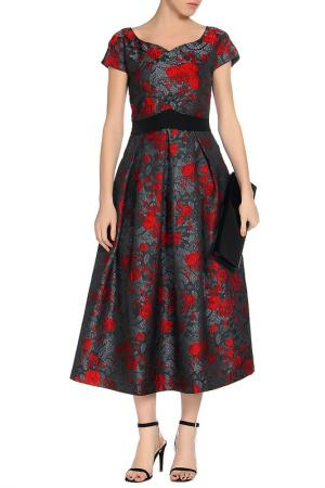 Платье MARINO MILANO. Цвет: мультицвет
