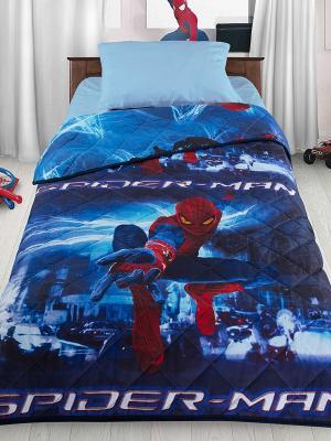 Покрывало Letto Новый человек-паук. Цвет: синий